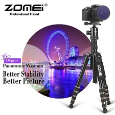 Zomei Aluminium Travel Tripod Monopod Ball Head Portable Tripod for DSLR Camera