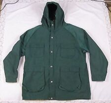 1960's VTG WOOLRICH MEN JACKET Spruce Green XL Hunting OUTDOOR FISHING Nylon USA