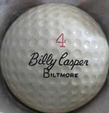 (1) BILLY CASPER BILTMORE SIGNATURE LOGO GOLF BALL (CIR 1966) #4