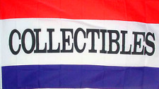 NEW 3X5FT COLLECTABLES BANNER PRINT SIGN  STORE FLAG