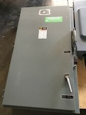 USED SQUARE D 400AMP HEAVY DUTY SAFETY SWITCH H365NAWK DISCONNECT SWITCH