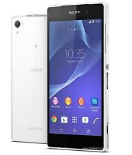 "5.2"" Sony Ericsson Xperia Z2 D6503 16GB 20.7MP Unlocked 3GB RAM SmartPhone White"