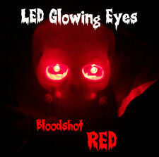 6 PACK - LED GLOWING EYES HALLOWEEN 5MM 9 VOLT WIDE ANGLE RED/WHT/BL/GRN/YEL/ORG