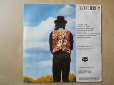 "ZUCCHERO FORNACIARI & ERIC CLAPTON ""WONDERFUL WORLD"" RARE SPANISH PROMO 7"" VINYL"