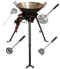 Wok De Gas Portátil Plegable Gama Cocina de pan para la cocina al aire libre & Eventos Catering