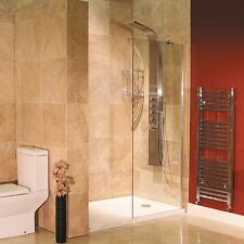 1200mm Frameless 8mm Thick Glass Walk in Wet room Shower Enclosure Screen Panel