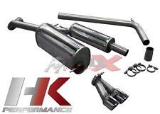 BULL-X Abgasanlage ab Kat - VW Polo (6R) - 1.4 TSI + GTI - 1x90mm - EWG - ABE