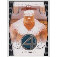 Marvel Masterpieces Series 2 costume card THE THING FF4 Fantastic FOUR