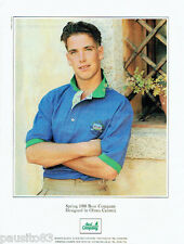 PUBLICITE ADVERTISING 115  1988  BEST COMPANY   polo Homme by OLMES CARRETTI