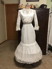 Antique Edwardian Tea Wedding Dress
