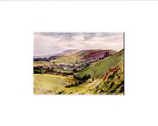 Dorset, Corfe Castle da Walter Tyndale R.I. stampa montata, SPEDIZIONE GRATUITA