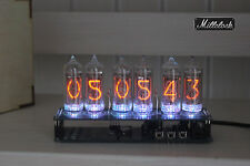 IN-14 NIXIE TUBE CLOCK ASSEMBLED WITH ADAPTER 6-tubes w/out enclosure retro