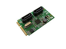 Carte MiniPCIe - SATA 3.0 - 2 PORTS - Mini PCI Express