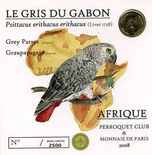 67 WEITBRUCH Encart Gris du Gabon, 2008, Monnaie de Paris