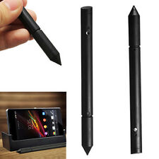 Protable 2in1 Touch Screen Pen Stylus For iPhone iPad Samsung Tablet Phone PC