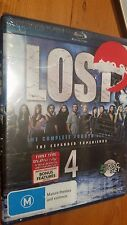 LOST THE COMPLETE FOURTH SEASON BLU-RAY RATED M BRAND NEW SEALED