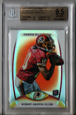 2012 Topps Platinum Orange Refractors Robert Griffin III RC #120 Beckett 9.5 S93