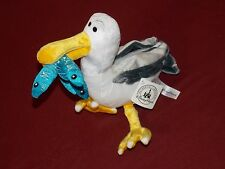 "Disney Parks Pixar 9"" MINE MINE MINE PLUSH SEAGULL w/ Fish Finding Nemo Toy NWT"
