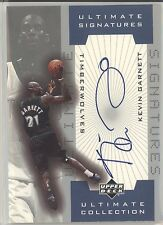 KEVIN GARNETT 2001-02 UD ULTIMATE SIGNATURES AUTO AUTOGRAPH TIMBERWOLVES SP