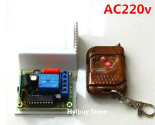 AC 220v 10A relay Wireless RF Remote Control Switch On/off Transmitter+Receiver