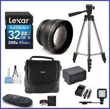 Telephoto Accessory Bundle for Canon VIXIA Camcorders