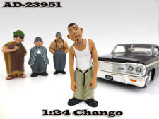 "CHANGO ""HOMIES"" FIGURE FOR 1:24 SCALE DIECAST MODELS BY AMERICAN DIORAMA 23951"