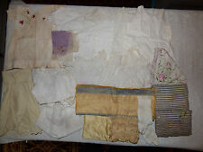 antique vintage doll LOT Clothes (for larger size dolls) USED AS IS FIX REPAIR