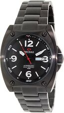 Precimax Men's Fortis Automatic PX13207 Black Stainless-Steel Automatic Watch