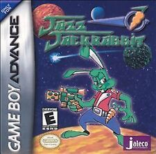 Jazz Jackrabbit Complete Nintendo Game Boy Advance GBA EPIC Jaleco Jack Rabbit