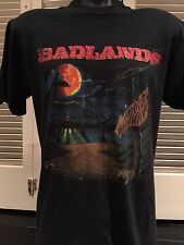 Rare Vintage Badlands Voodoo Tour Shirt Sz L Rock Red Dragon Metal 80 Jake E Lee