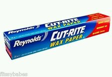 Reynolds ® coupe-rite cire papier die cut easy release (75 sq pied) free p & p!