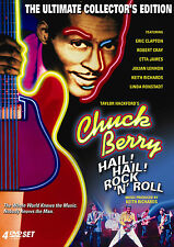 CHUCK BERRY HAIL! ROCK N ROLL 4-Disc ULTIMATE EDITION Box & OOP Eric Clapton NEW