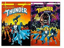Thunder Agents #1-4 (1985) Deluxe Comics FN/FN+ Wally Wood