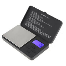 LCD Digital Scale 1000g x 0.1g Electronic Jewelry Gold Silver Coin Gram Pocket