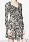 New FCUK French Connection Ladies Circle Long Sleeve Jersey Dress Size 10 - 16