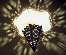 lustre plafonnier marocain fer forgé lampe orientale lanterne applique 35 cm!