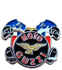 NEW MOTORCYCLE BADGE MOTO GUZZI LE MANS V50 V7 CALIFORNIA STELVIO ACE CAFE RACER