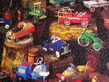 KIDDIE CAR CLASSICS Garton Murray jigsaw puzzle 1980s missing piece Springbok