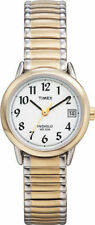 Timex T2H491, Women's Easy Reader, 2-Tone Expansion Watch, Indiglo,T2H4919J