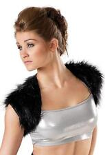 NEW Dance Costume Small Adult Fur Shrug Vest Hip Hop Jazz Solo Competition