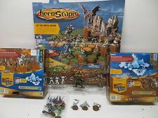 Heroscape Rise of the Valkyrie Set+ Thaelenk Tundra Set+x Figures 60 Total.