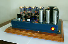 Stereo Tube Amplifier 6L6/6n3c/EL34 Handcrafted Parallel PP Fantastic Sound !!!