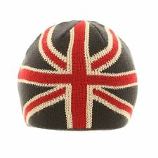 NEW UNION JACK KNITTED BEANIE GREAT BRITAIN BRITISH ENGLAND WINTER SKI HAT CAP