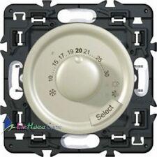 Thermostat fil pilote Legrand Céliane titane 67410+68545+80251