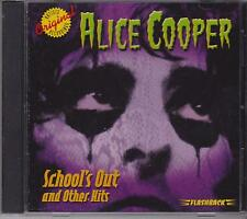 ALICE COOPER - SCHOOL'S OUT & OTHER HITS - CD - NEW -