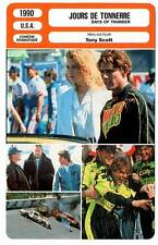 FICHE CINEMA : JOURS DE TONNERRE - Cruise,Kidman,Scott 1990 Days Of Thunder