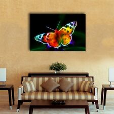 70×100×3cm Abstract Butterfly Canvas Prints Framed Wall Art Home Decor Painting