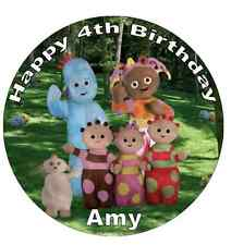 In The Night Garden Personalised Wafer Paper Topper For Large Cake 7.5""