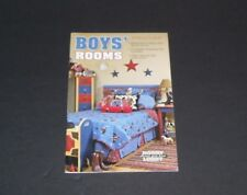 BOY'S ROOMS INSTRUCTION HOW TO LESSON BOOK FOR 32 PROJECTS SPORTS COWBOYS