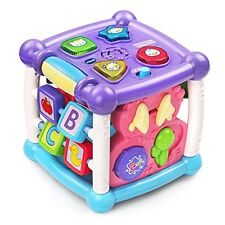 VTech Busy Learners Activity Cube, Toddler Kids Baby Educational learning Toy